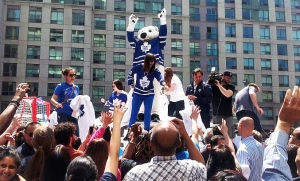 Leafs playoff excitement builds in Toronto