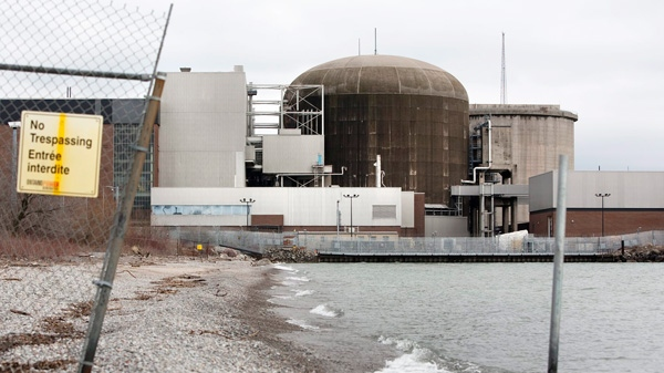 The Pickering Nuclear Generating Station is shown in Pickering, Ont., Wednesday, March 16, 2011. (Darren Calabrese / THE CANADIAN PRESS)