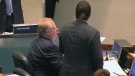 Mayor Rob Ford is seen during a city council meeting, Tuesday, May 21, 2013.