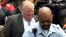 CTV News: Rob Ford turns his back on reporters