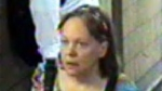 Toronto police released this photo of a woman as they investigate a theft that occurred at College Station on Wednesday, May 22, 2013. (Handout)