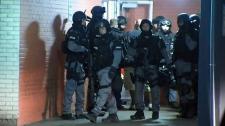 Early morning Toronto raids