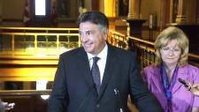 Finance Minister Charles Sousa