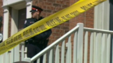Police were investigating a suspicious death near York University on April 15, 2011.