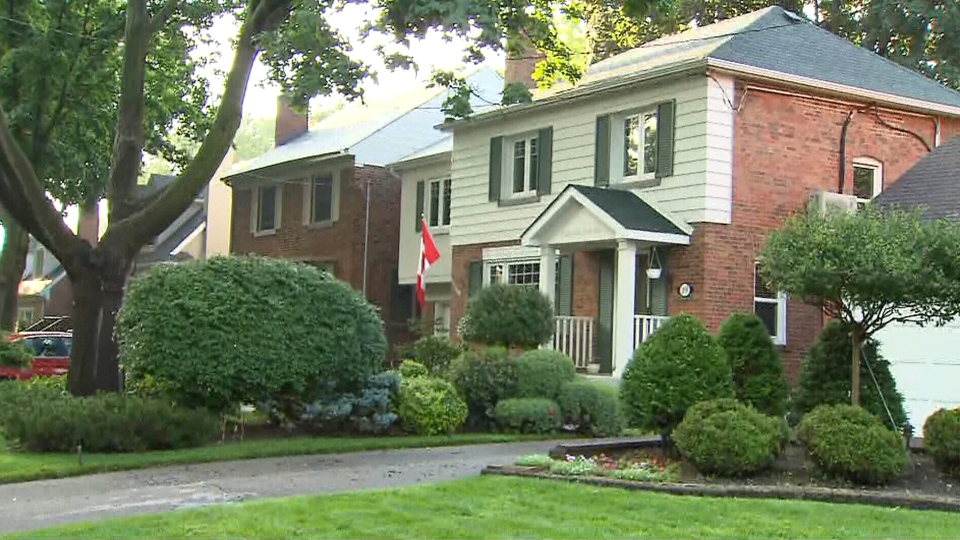 Police say several homes were broken into while residents were asleep in Etobicoke over the weekend