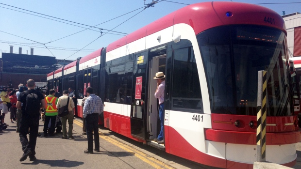 More new streetcars expected to hit Toronto tracks in spring