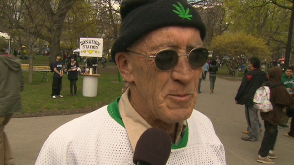 Roy Bowins, a participant of the Global Marijuana March, says that the big push to legalize marijuana has changed.