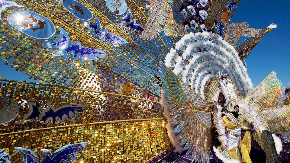 Caribbean Culture Comes Alive At Carnival Grand Parade