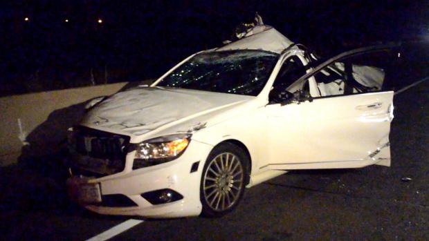 Two-vehicle crash on Highway 407
