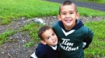 Noah and Connor Barthe, brothers who were killed by a python in Campbellton, N.B., are pictured in this undated photo.