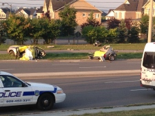 Fatal crash Derry Road in Mississauga