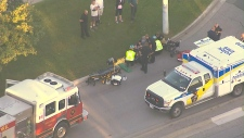 Two children struck by vehicle in Newmarket