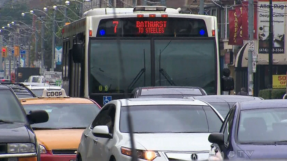 The head of the Toronto Transit Commission's union says drivers are under intense pressure to stay on schedule and, as a result, are putting themselves and the public at risk.