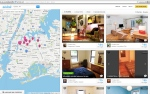 This Oct. 14, 2013 screen shot provided by Airbnb from their website shows a typical search for listings of rooms to rent, in this case in the Queens borough of New York, through Airbnb. (AP Photo/Airbnb)