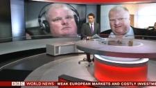 World coverage Rob Ford Toronto BBC