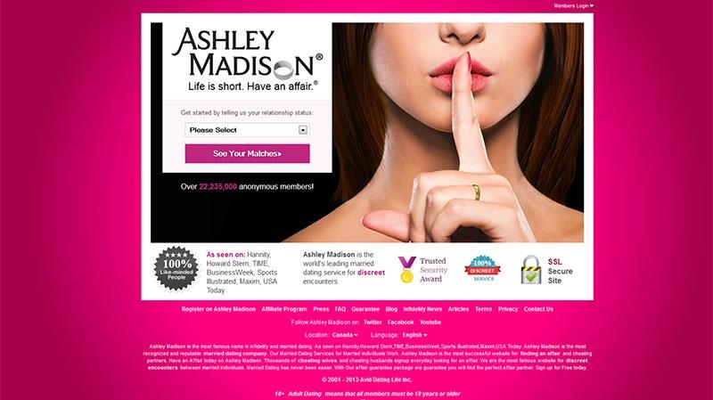 canada lawsuit against ashley madison dating site dismissed .