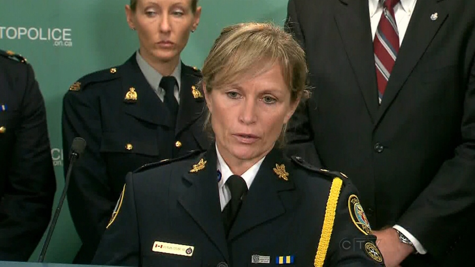 Insp. Joanna Beaven-Desjardins, head of the Toronto police's sex crimes unit.
