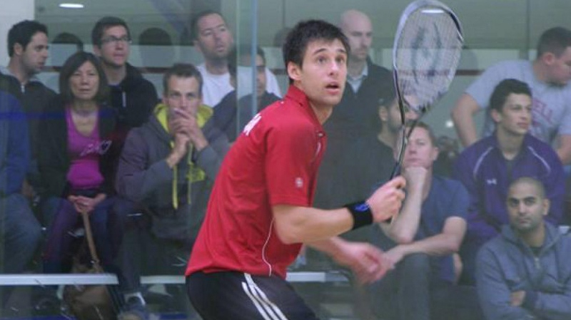 In this photo from Squash Canada, Adrian Dudzicki is pictured. Dudzicki died after being struck by a vehicle in North York on Nov. 20, 2013.