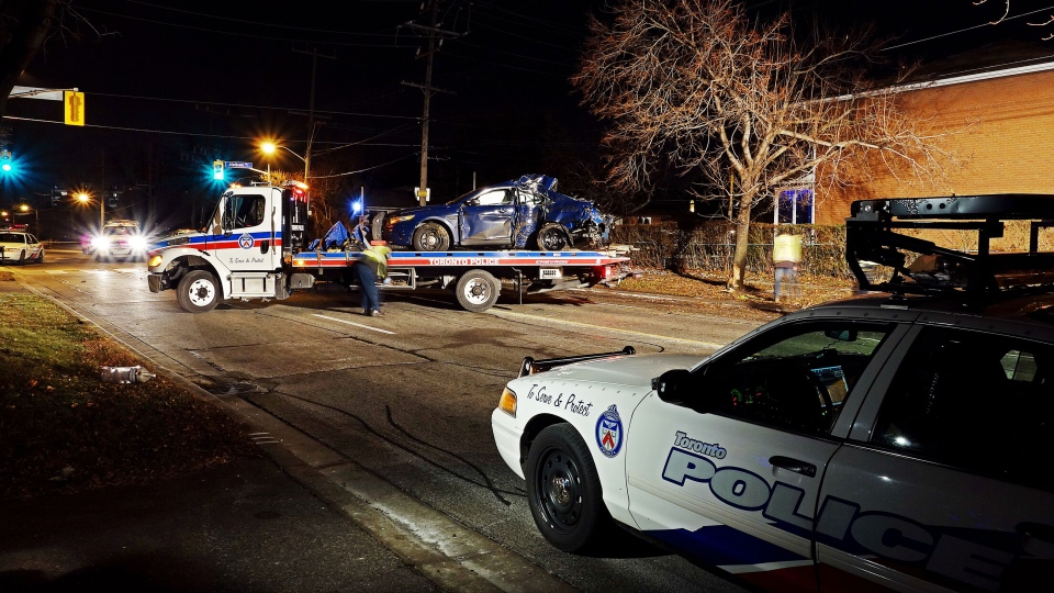 Car Accident In Toronto On Saturday