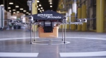 In this undated handout photo from Amazon.com, a drone used to deliver a parcel is pictured. Amazon CEO Jeff Bezos said he hopes to see the drones in use in four to five years.
