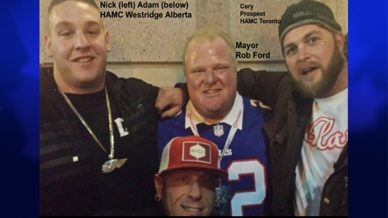 Rob Ford Explains Photo With Alleged Members Of The Hells