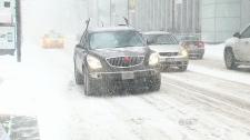 Snow hammers Toronto