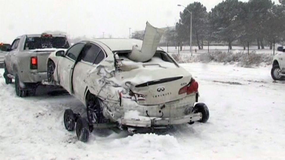 Winter storm hits southern Ontario; Toronto under snowfall warning