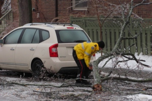 Crippling ice storm strikes