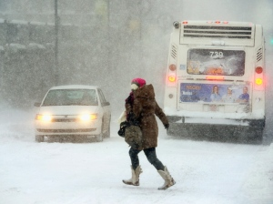 winter wallop hits parts of Canada and U.S.