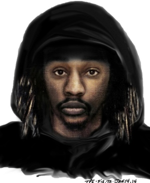 Toronto police have released this sketch of a suspect sought in connection with a sexual assault in the city's east end in the summer of 2012.