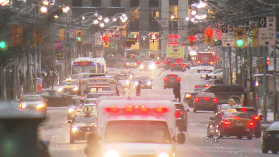The City of Toronto hopes to cut down on rush-hour gridlock by introducing a higher fine for drivers who park in no-stopping zones.