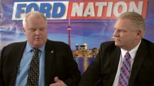 Rob, Doug Ford in 'Ford Nation' YouTube debut