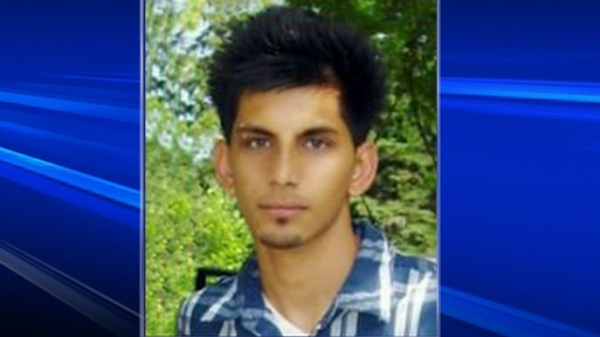 Akash Wadhwa, the teenage suspect died of injuries he sustained in a fall from a Highway 401 overpass, is seen in this undated handout photo.