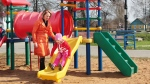 Playground concussions are on the rise, according to a new American government study, and monkey bars and swings are most often involved. (Kruchankova Maya / Shutterstock)