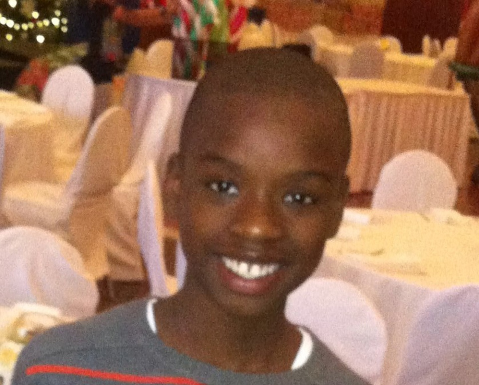 Shaundrey Knight-Bryce, 11, is pictured in an undated photo provided by Peel Regional Police.