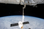 This Tuesday, March 26, 2013 file photo provided by NASA shows the release of the SpaceX Dragon-2 spacecraft from the International Space Station. (AP / NASA)