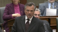 Veteran Progressive Conservative MPP Frank Klees in the Queen's Park legislative chambers. (file)