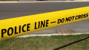 Police tape is pictured in this file photo.