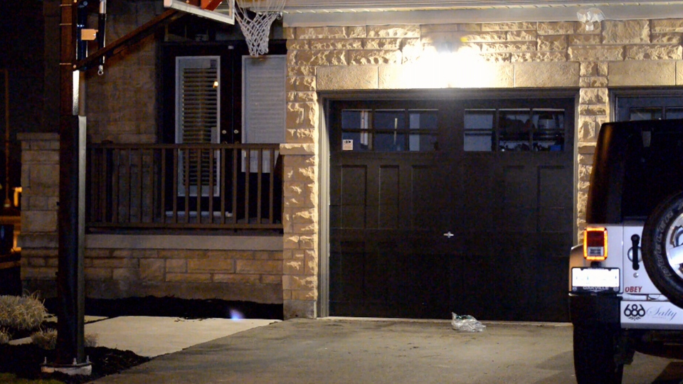 A 9-year-old boy was critically injured when his jacket got caught in an opening garage door at a home in Oakville, Monday, April 28, 2014.