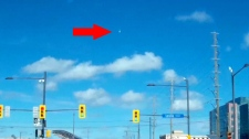 Meteor video images Toronto Ontario