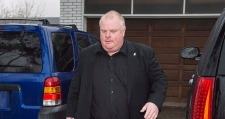 Where is Toronto Mayor Rob Ford?