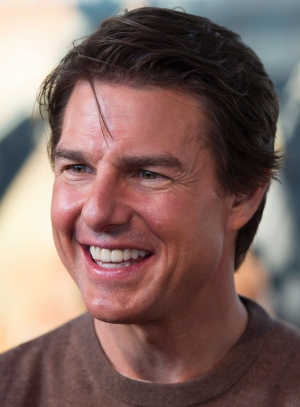 Tom Cruise on the Toronto red carpet