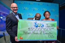Couple reunited with $50M lottery ticket