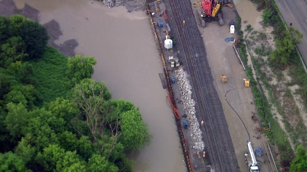 Dvp Closure Gallery: Flooding Prompts Toronto To Re-examine Drainage System