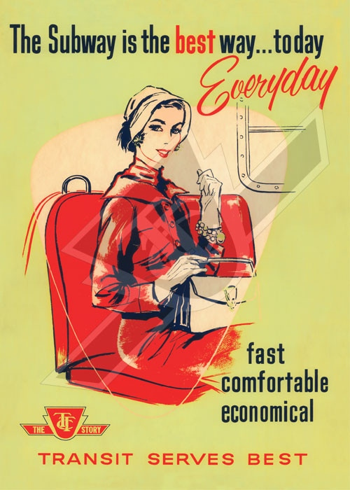 Toronto Subway Map Poster.Vintage Ttc Posters For Sale Online Ctv News Toronto