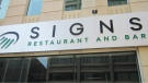 Signs opened in July. It is billed as the country's first restaurant to employ mostly deaf servers. Patrons are also encouraged to order their food and drink using a sign language cheat sheet that is included with the menu.(Signs/Facebook)