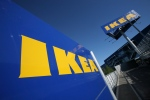 The Ikea sign at a New York City store. (AP/Mark Lennihan)