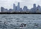 Melbourne, Australia, is seen on Sunday, March 25, 2007. (AP / Steve Holland)