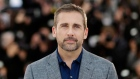 Actor Steve Carell poses for photographers during a photo call for Foxcatcher at the 67th international film festival, Cannes, southern France, Monday, May 19, 2014. (AP / Thibault Camus)