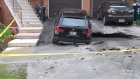 CTV Toronto: Woman's SUV freed from sinkhole